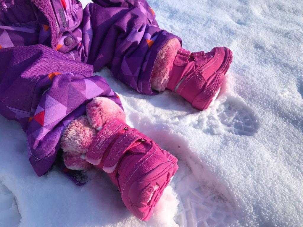 Kamik Schneeanzug Schneestiefel Leaf Winter Schnee Produktetest Mama-Blog Kleinkind