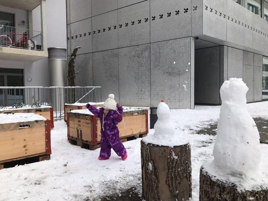Kamik Schneeanzug Schneestiefel Leaf Winter Schnee Produktetest Mama-Blog