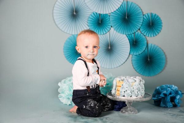 Das Smash the Cake Shooting des Babybruders