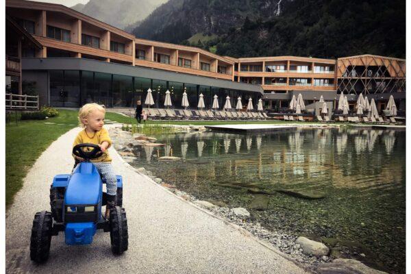 Feuerstein Nature Family Resort: Familienferien im Südtirol