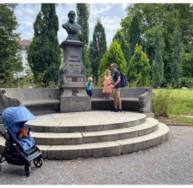Entlang der Limmat – oder das Ende des Kinderwagens